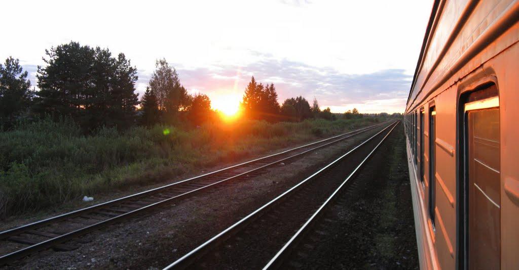Поезда..